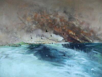 """Konstantin Batynkov, '""""In the harbor"""" 1', 2013"""