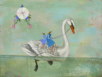 Deedee Cheriel, 'It Is By Self Forgetting One Finds The Glide of the Swan Looks Effortless but Underwater He Paddles Like Hell', 2014