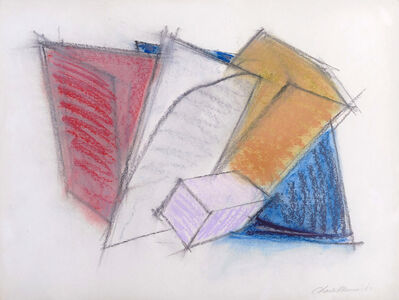 Charles Hinman, 'Untitled Minimalist Drawing (Mid-Century Modern)', 1980