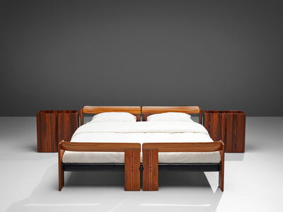 Afra & Tobia Scarpa, 'Afra & Tobia Scarpa 'Artona' Bed with Nightstands', 1975