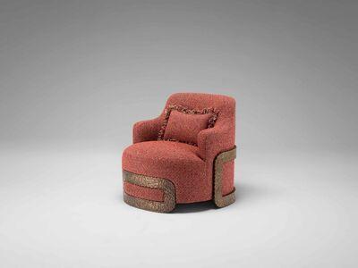 Mattia Bonetti, 'Armchair 'Buckle'', 2017