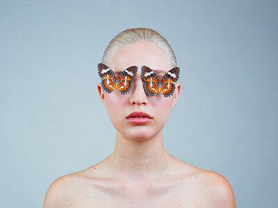 Tyler Shields, 'Butterfly Eyes', ca. 2017