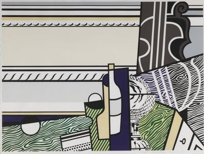 Roy Lichtenstein, 'Still Life with Crystal Bowl (C. 150)', 1976