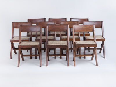 Pierre Jeanneret, 'Library Chairs', ca. 1950