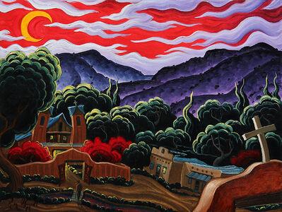 "Kim Wiggins, '""A Starry Night on Red Rock Ranch""', 2015"
