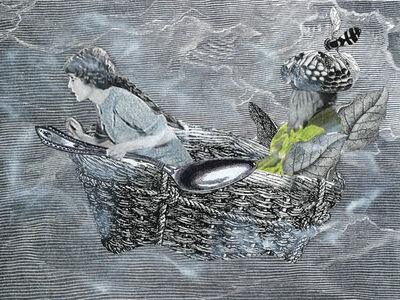 Stacey Steers, 'Edge of Alchemy Ed. 10 (woman flying with spoon)'