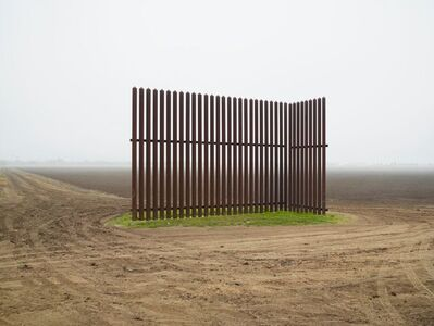 Richard Misrach, 'Wall, Near Los Indios, Texas/El muro, al este de Nogales, Arizona ', 2014