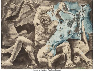 Pablo Picasso, 'Bacchanale II', 1955