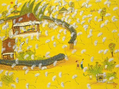 Sung-Hwan Choi, '2.봄. 봄바람, 130.3x112cm', 2015