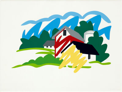Tom Wesselmann, 'House and Barn in the Distance', 1991