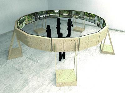 """Nicolas Consuegra, 'Project visualisation for """"El agua que tocas es la última que ha pasado y la primera que viene""""', 2013"""