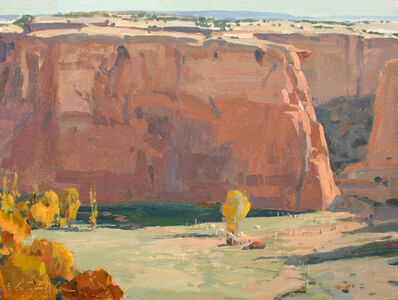 """G. Russell Case, '""""Canyon de Chelly""""', 2018"""