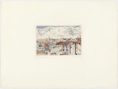 James Ensor, 'Les toits à Ostende', 1903