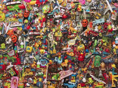Liu Bolin, 'Plastic Toys', 2015