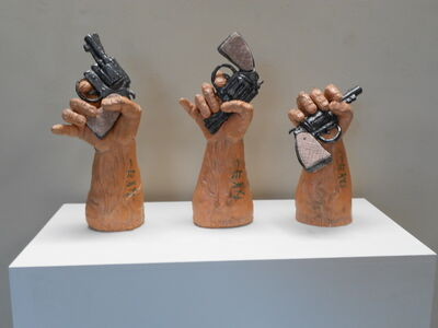 Joe Mariscal, 'The Three M's: Murder, Mayhem, and Masturbation', 1985