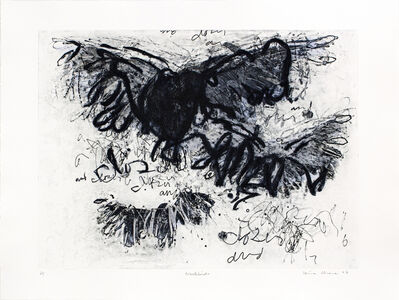Louisa Chase, 'Black Birds', 1997