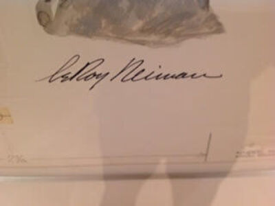 LeRoy Neiman, 'The Thinker (Signature)', 1982