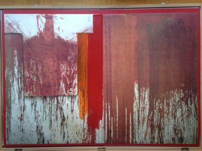 Hermann Nitsch, 'Ubermalte Bild Lithographien', 1991