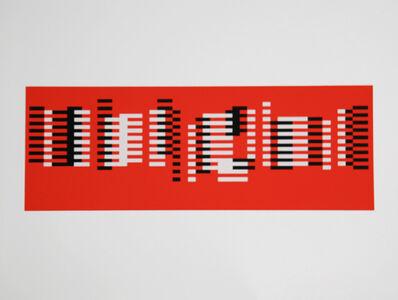 Josef Albers, 'Untitled (Formulation: Articulation)', 1972