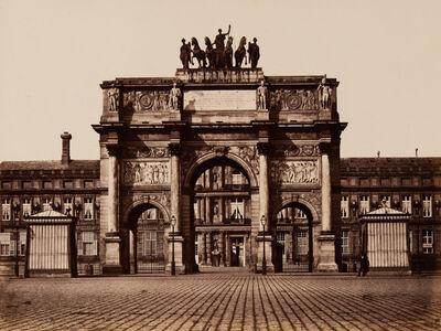 Édouard Baldus, 'L'Arc de Triomphe du Carrousel, Paris', ca. 1965