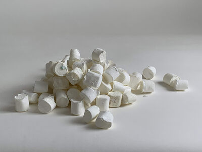 Mark Power, 'Pile of Large Marshmallows', 2019