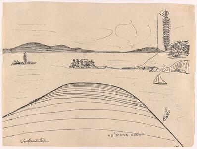 R. Buckminster Fuller, '4D Down East, from the 4D Time Lock portfolio', 1928