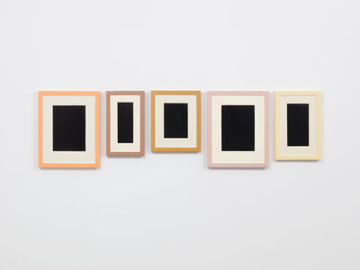 Allan McCollum, 'Collection of Five Plaster Surrogates', 1982/92