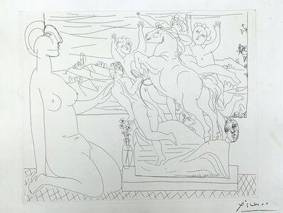 Pablo Picasso, 'Modèle contemplant un Groupe sculpté ', 1933