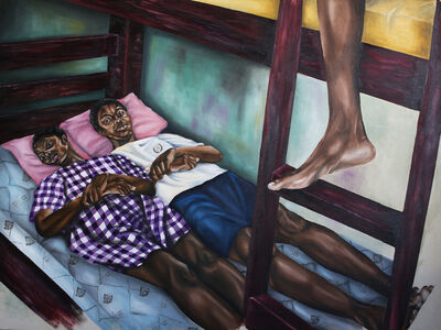 Ekene Emeka Maduka, 'Chaos turns placid before the bells ring', 2020