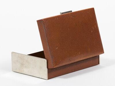 Carl Auböck, 'Leather Box', ca. 1950