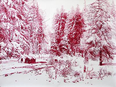 Malgosia Jankowska, 'Roter Schlitten', 2015