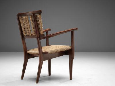 Mart Stam, 'Oak and Wicker Armchair', 1947