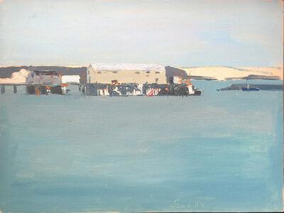 Salvatore Del Deo, 'McMillan Wharf Winter', 1972