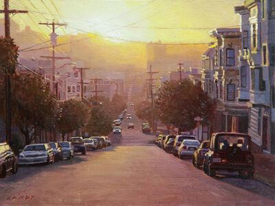 Greg Gandy, 'Sunset Over the Marina District', 2015
