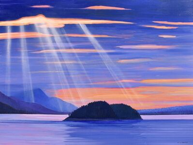 Nicholas Bott, 'View from BC Ferries', 2020