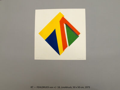 Rainer Tappeser, 'Probe PLUS-MINUS 18', 1973