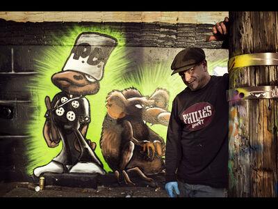 Søren Solkær, 'Mark Bode (USA), The Bronx', 2012