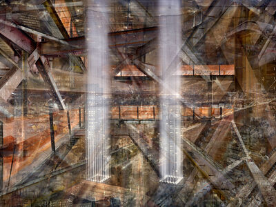 Shai Kremer, 'W.T.C: Concrete Abstract #17'