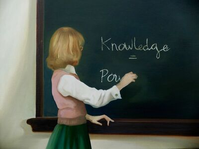 Grace O'Connor, 'Knowledge is Power ', 2016