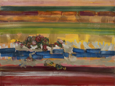 Gina Rorai, 'Figure and Flowers', 2018