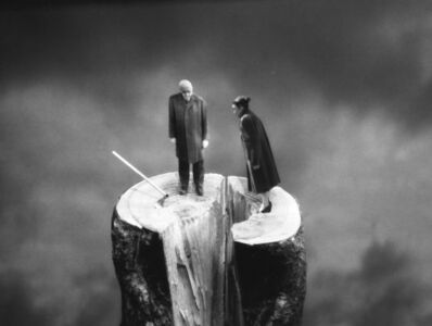 Gilbert Garcin, 'L'irréparable - The point of no return', 2003