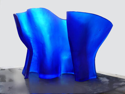 Mary Shaffer, 'Cobalt Wave', 2018