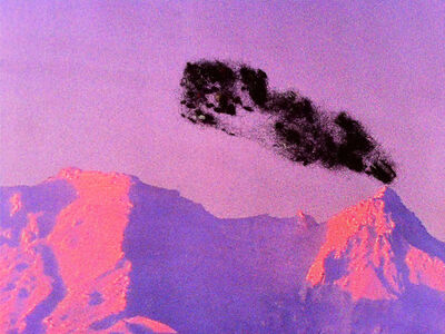 "Nina Katchadourian, 'Pink Volcano (""Seat Assignment"" project, 2010--ongoing)', 2014"