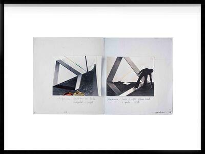 """Genilson Soares, 'Documentação da instalação """"Uma Prancha Encostada na Parede"""" apresentada na XII Bienal Internacional de São Paulo, 1973, São Paulo, Brasil', 1973"""