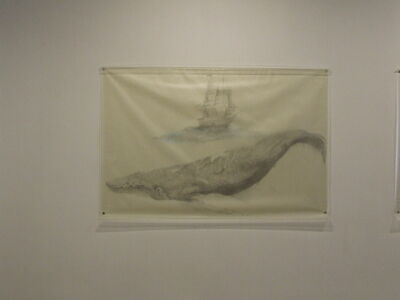 Avish Khebrehzadeh, 'Whale with Ship', 2009