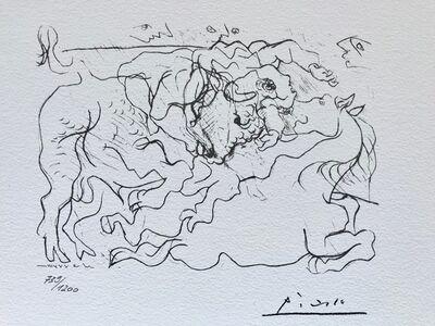 Pablo Picasso, 'Morte au Soleil IV (Suite Vollard Planche XVI)', 1973