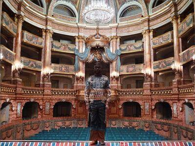 Liu Bolin, 'Hiding in Italy - Teatro di Corte Reggia di Caserta', 2017