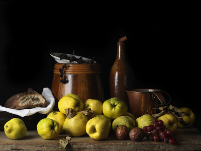 Paulette Tavormina, 'Still Life with Quince and Jug, After L.M.', 2014