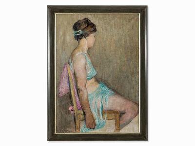 """Viktor V. Adamkevitsch, '""""Sitzende Tänzerin"""" ', 1964"""