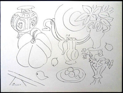 """Henri Matisse, 'Lithograph """"Flowers and Vases"""" after Henri Matisse', 1943"""